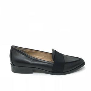 BCBGeneration Sz 8 Jo Pointed Toe Loafers Black